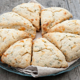 Chive and Cheddar Buttermilk Scones Recipe