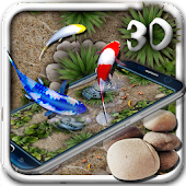 Free Koi Fish 3D Theme With Animation