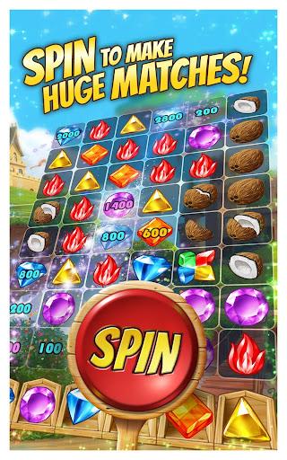 Cascade: Spin & Match Gem Puzzle App screenshot 1
