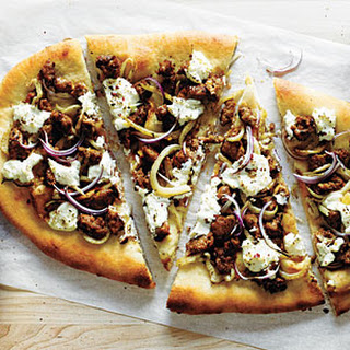 Sausage, Fennel, and Ricotta Pizza.