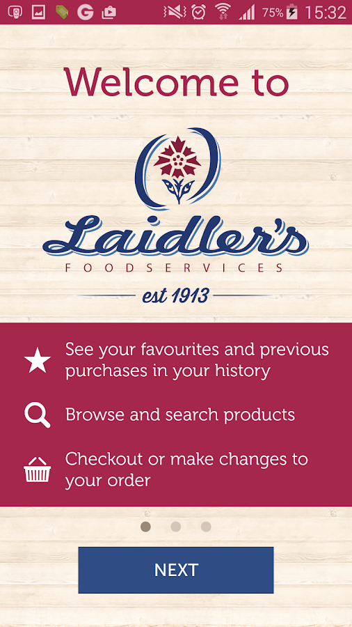 Laidlers Foodservices- screenshot
