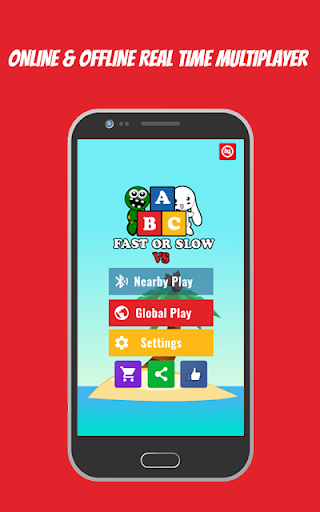 ABC Fast Or Slow: Multiplayer Real-Time Game Free screenshot 1