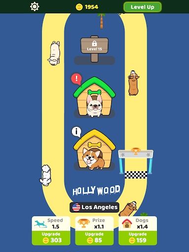 Dog Racing Idle apkmind screenshots 6