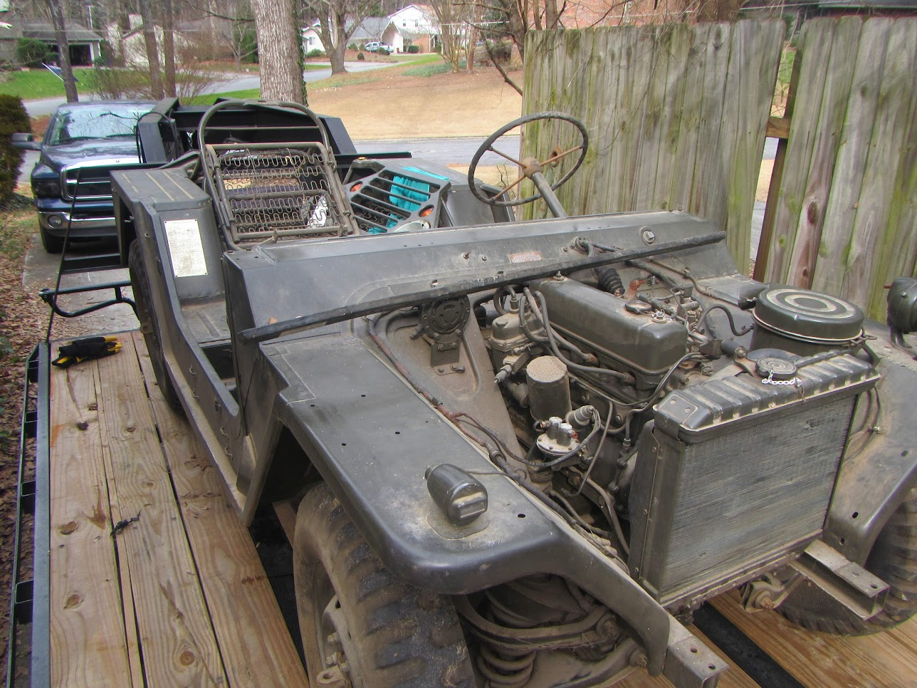 WTS: 196? M151A1 Restored Body and Rebuilt Engine SPF - G503