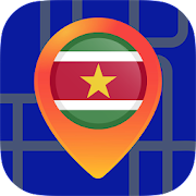 ?Maps of Suriname: Offline Maps Without Internet