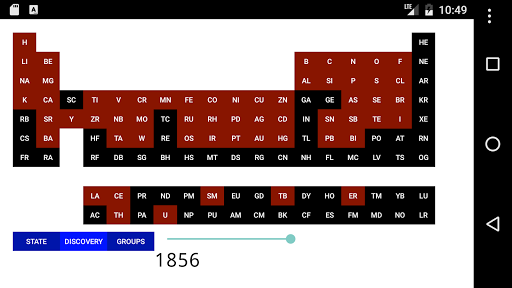 periodic table of elements - App Periodic Table Mobile9
