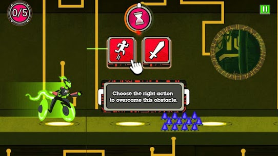 Omni-trix Glitch : Alien Transform Hero 5