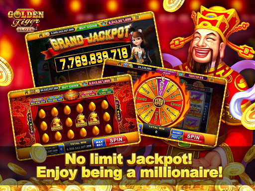 Golden Tiger Slots - Online Casino Game 1.3.0 screenshots 12
