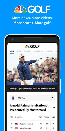 Golf Channel screenshots 1