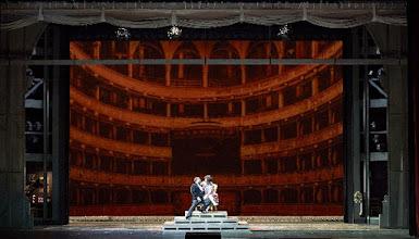 Photo: Wiener Staatsoper: DIE SACHE MAKROPULOS. Inszenierung Peter Stein, Premiere am 13. 12.2015. Carlos Osuna, Margarita Gritskova. Foto: Wiener Staatsoper/ Michael Pöhn