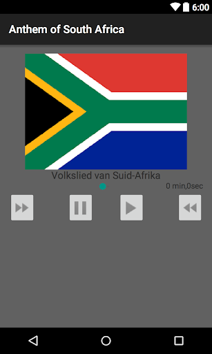 Anthem of South Africa