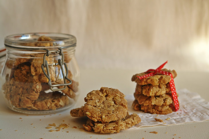 Oatmeal and Ginger Cookies