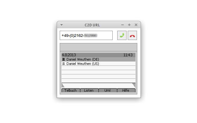 C2D URL