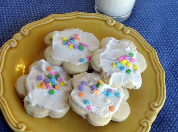 Aunt Gail's Sour Cream Sugar Cookies