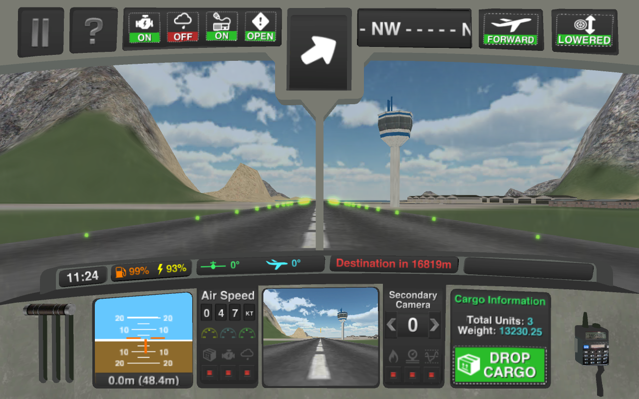 Airplane pilot simulator 3d android apps on google play for Simulatore 3d