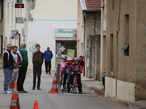Photo: Gauthier au départ du sprint