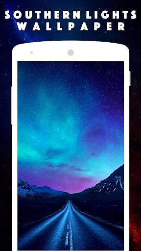 ... Aurora Borealis live Wallpaper screenshot 7 ...