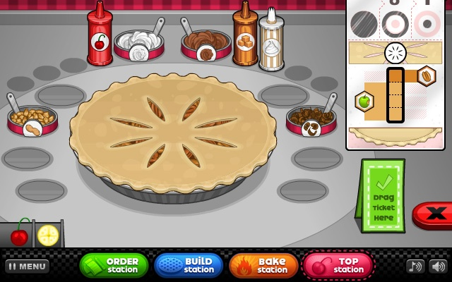 Papas Bakeria Online Games Chrome Web Store - Papa louie cuisine