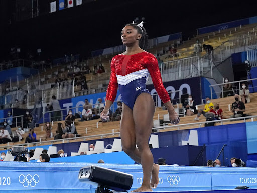 By withdrawing, Simone Biles showed her humanity, not her athletics