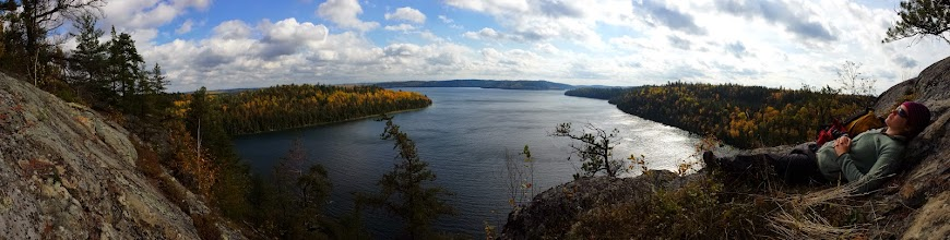 Photo: Mt. Fergusson, Temagami lake. Ontario, Canada