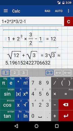 Graphing Calculator + Math Screenshot