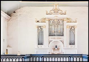 Photo: Friedrich Wilhelm Winzer Orgel aus dem 19. Jht. / Prospekt von Johann Heinrich Tischbein aus Warin