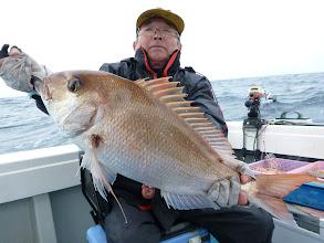 Photo: これまたナイス真鯛!3kgオーバー!