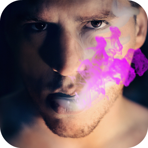 Smoke Effects for Pictures App Icon