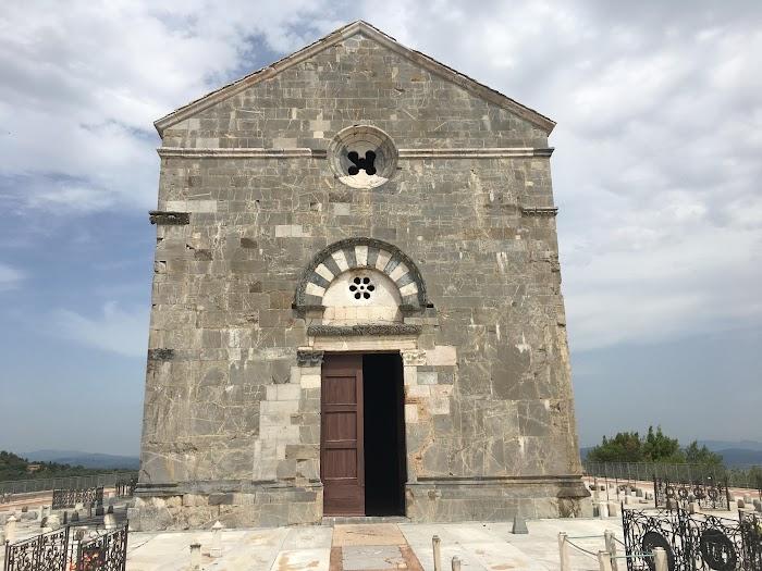 Campiglia Marittima, Pieve di San Giovanni, facciata