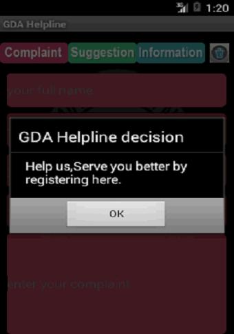 GDA Helpline
