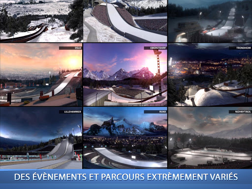 Ski Jumping Pro  captures d'u00e9cran 2