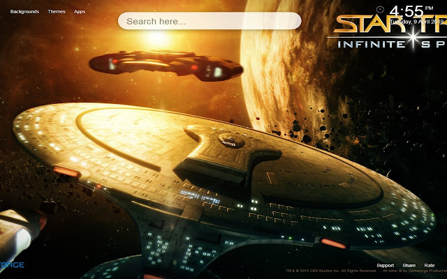 Star Trek HD Wallpapers New Tab