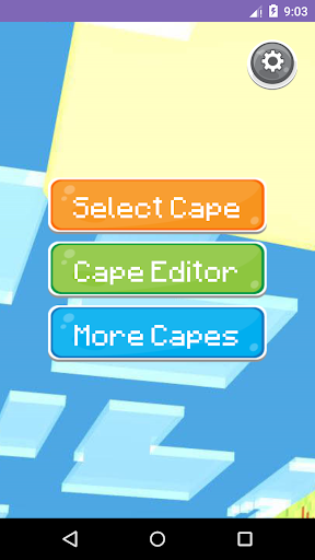 3D Cape Editor for Minecraft