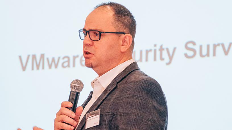 Ian Jansen van Rensburg, VMware Africa's lead technologist.