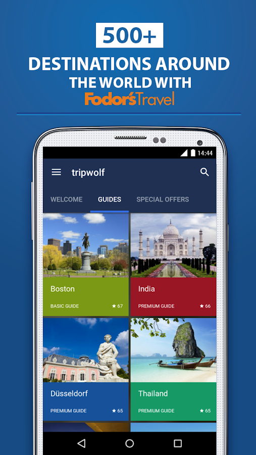 Tripwolf - Your Travel Guide- screenshot