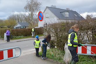 Photo: Affaldsindsamling på Byvej i Beder