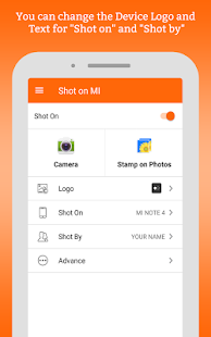 ShotOn for Mi: Auto Add Shot on Watermark on Photo Screenshot