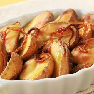Quick-and-Easy Potato and Onion Bake