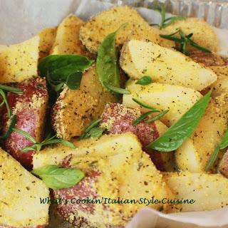 Rosemary Basil Red Skin Potato.