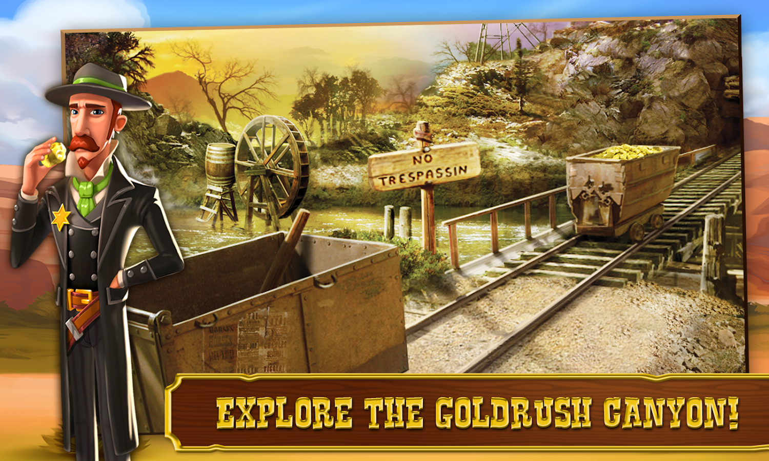Goldrush:Tropical Peril Hay!- screenshot
