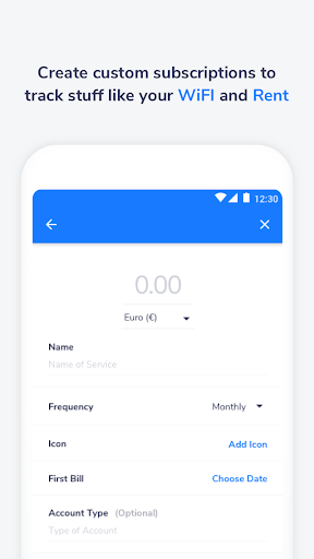 Nate - A Subscription Manager  screenshots 4