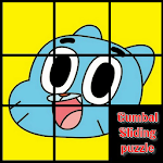 Gumball Sliding puzzle :slide puzzle game for kids Icon