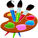 Painting and drawing game