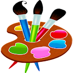 Painting and drawing for kids and adults Icon
