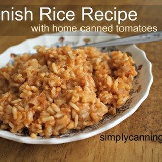 Spanish Rice With Canned Tomatoes Recipes.