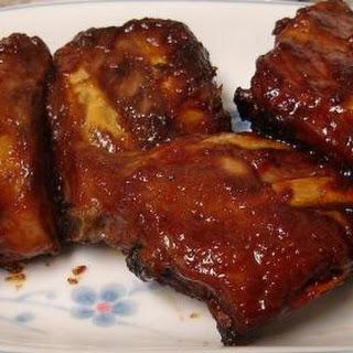 Bar-B-Barn ribs