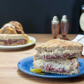Reuben Sandwich Recipe with Corned Venison Recipe