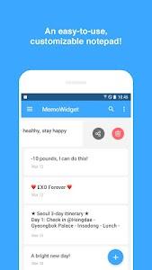 Memo Widget (to-dos&ideas) v3.5.5