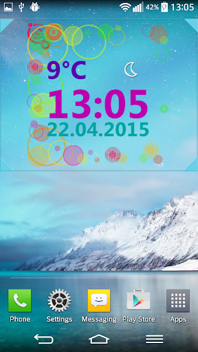 Weather Clock Widget  screenshots 4