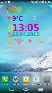 Weather Clock Widget screenshot 3